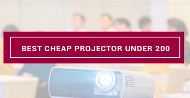 best cheap projector under 200