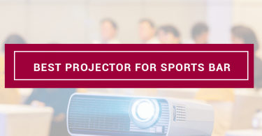 best projector for sports bar