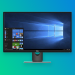 My monitor has lines across it?
